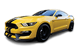 Car Detailing Yellow Mustang