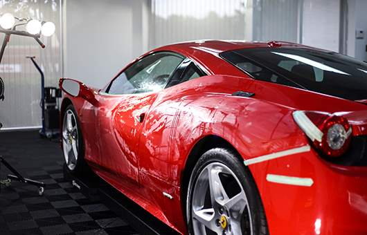 Full Front Paint Protection